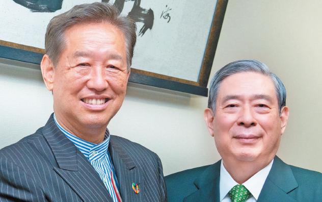 ヘルスケア対談(4):SBIホールディングス・北尾吉孝社長×JAHI・今西信幸会長
